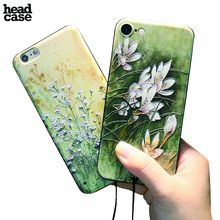 Popular Floral Cases For iPhone 6 6s 7 Plus Cover Shockproof TPU Painted Phone Back Cases for iPhone 6 Case Silicone Coque Skin