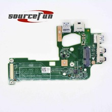 New Original For Dell Inspiron 15 M5110 USB NIC Audio Jack Port Ethernet Board 48.4IE05.021 0NHXRJ