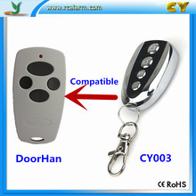 Russia Market Auto Door Compatible Doorhan wireless remote control with Battery(China)
