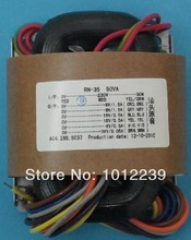 R -Core  transformer 50W / 170 V +6.3 V power supply transformer /  tubes / 115V-230V International Voltage