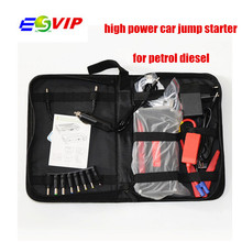Discount! High Capacity Car Power Bank Car Jump Starter 12V Mini Portable Multifunctional Jumper Start with EU US UK Chargr Plug