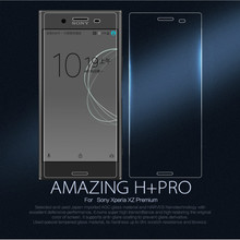 Buy 10pcs/lot Wholesale Original NILLKIN Amazing H+PRO Anti-Explosion 9H Tempered Glass Screen Protector Sony Xperia XZ Premium for $71.92 in AliExpress store