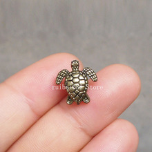 2pcs Sea turtle cartilage barbell Upper Ear Ring piercing Body Jewelry