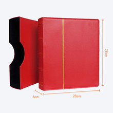 Hard Cover 70 Sheets 25*28CM Coin Book Holder Paper Currency Banknote Collection Money Coin Protection Book Memorial Coins Album(China)