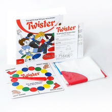 Twister outdoor indoor sport party family funny game,classic game for 2-4 player kid's educational puzzle toys Ties You Up(China)