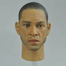 "1/6 scale Toy Head Sculpt Will Smith Men in Black 3 MIB Agent J Fit 12"" figure(China)"