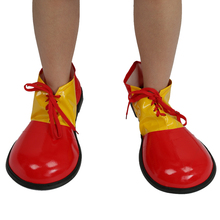 Clown Adult Kids Shoe Covers Fancy Dress Fun Circus Costume Accessory for Fancy Dress PartiesTV themed Parties Stag Night Favor(China)