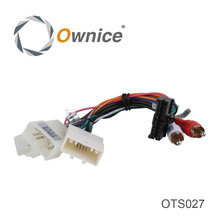 Connector ISO Cable For toyota Series Used in Ownice Car Entertainment System, just fit for Ownice DVD(China)