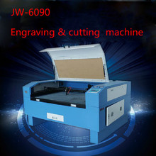 Version JW-6090 Laser Co2 150W out of CNC Laser Machine Laser Engraving Machine Cutting machine engraving speed 0-60000 mm/min
