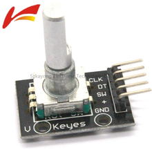 360 Degrees Rotary Encoder Module Arduino Brick Sensor Switch Development Board KY-040 Pins