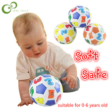 1 pc Educational Toy baby ball number color ball safe soft ball rubber ball suitable for 0-6 years old GIFT TOY WYQ