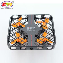 2017 Hot Sales 777-382 SKY Mini Cube Drone 100% Original RC Quadcopter RTF Fully Protected Cover 3D Roll Speed Switch Led Light