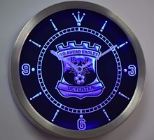 nc1027 Go Ahead Eagles Eerste Divisie Netherlands Neon Sign LED Wall Clock(China)