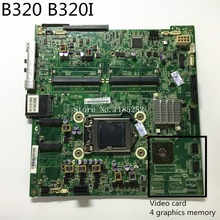For Lenovo B320 B320i CIH61S V1.0 all-in-one motherboard desktop mainboard with Video card 100% tested Good working