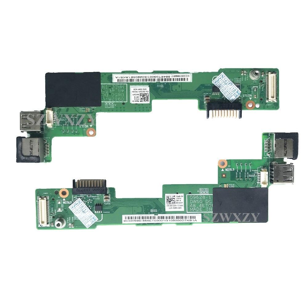 Dell Vostro 3500 P09F001 Laptop 50.4ES08.001 DC Power Jack Charging Port Socket