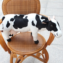 creative toy simulation cow, large 70cm dairy cow plush toy throw pillow ,present Xmas gift c0634(China)