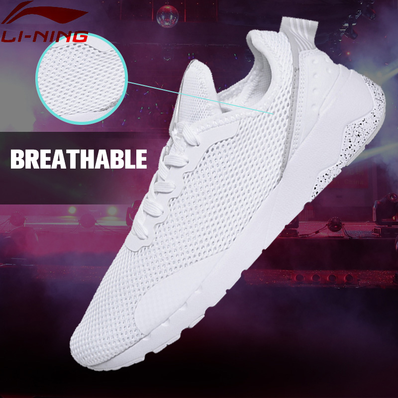 Li-Ning Women s Sports Life Walking Shoes Breathable Leisure LiNing Sneakers Sport Shoes GLKM068 YXB071<br>