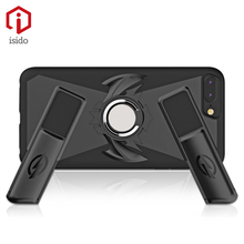 ISIDO PC Fashion originality special Phone Case For iPhone 6 6s 7 8 Plus metal Gamepad Phone Kickstand case For iPhone6 6s 7 8(China)