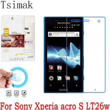 For Sony Xperia acro S LT26W Screen Protector Clear Soft Nanometer Explosion-proof LCD Protective Film (Not Tempered Glass)(China)