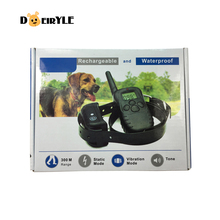 DEIRYLE Rechargeable and Waterproof Dog Training Collar,300m Remote Pet Training Collar Electric Collar Shock Collar