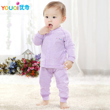 YOUQI High Quality Cotton Spring Baby Clothes Fall 3 6 9 Months Girls Boys Clothing set Casual Toddler Infant Pajamas Costumes(China)