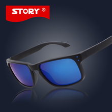 STORY NO LOGO Fashion Brand Designer Sunglass Mens Holbrook Sunglasses Women Men Polarized Lens Sports Outdoor Sun Glasses UV400