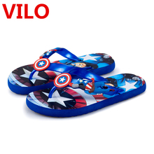 New Boy Sandals Kids Shoes Children Flip Flops Baby boy Beach Sandals Fashion Summer Children Shoes tx0938