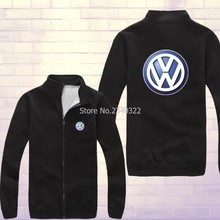 Winter autumn VW Volkswagen sweatshirt 4S shop tooling zipper coats