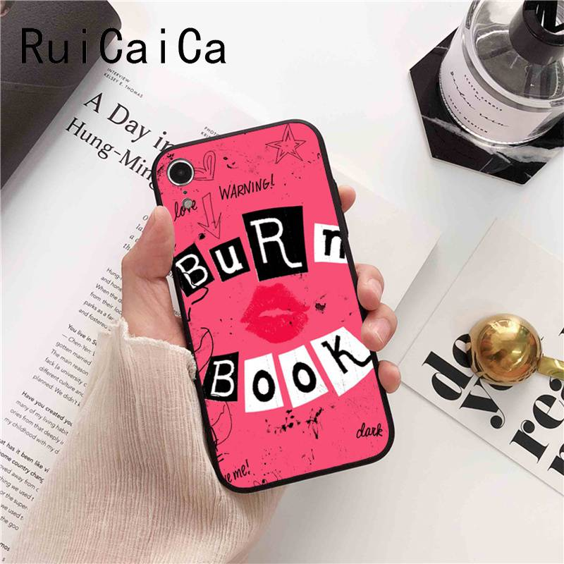 Burn Book Mean Girls Kiss Hot Fashion Fun Dynamic pink