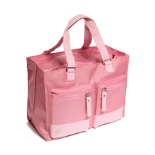 Designer Maternity Nappy Bags Mummy Baby Bag , Pink Maternity Designer Diaper Bags Baby Mummy