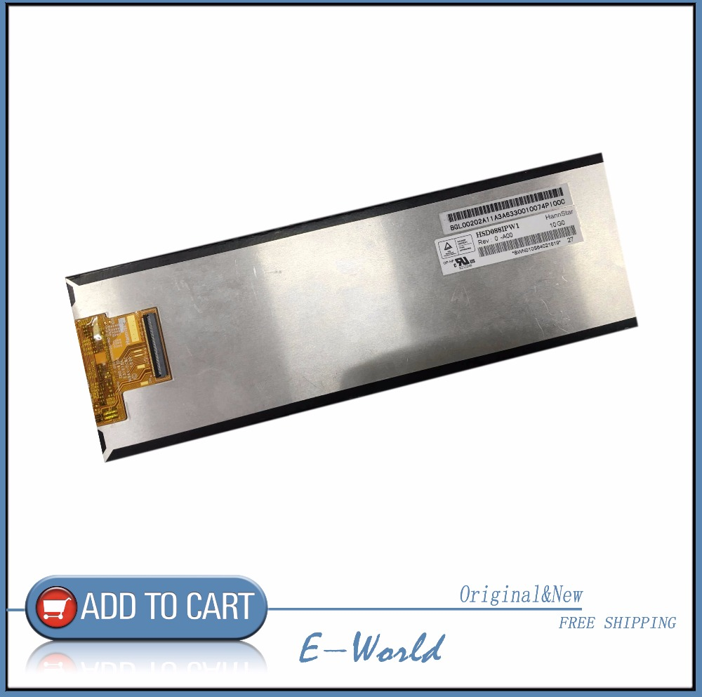 Original 8.8inch LCD screen HSD088IPW1 free shipping<br>