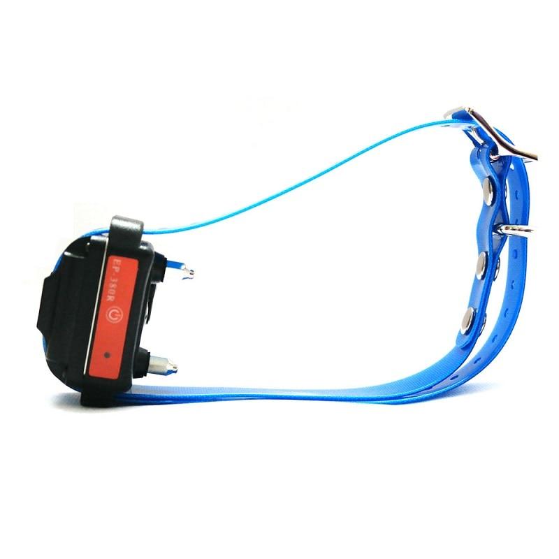 dog receiver-blue