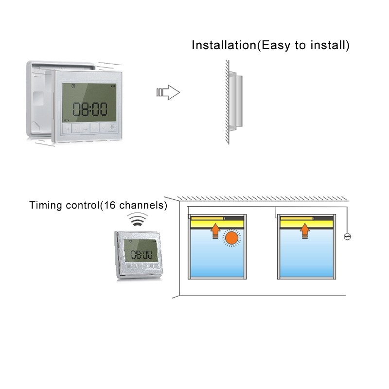 Smart Remote Touch Timer 7