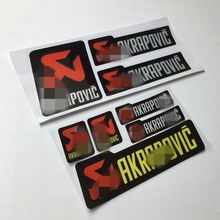 Car Styling Logo Car Sticker Decals Reflective for Car Whole Body Motorcycle Bike for AK Scorpion(China)