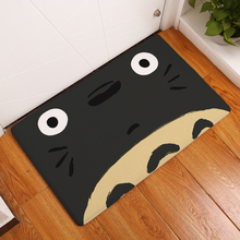 2017 New Totoro Print Carpets Non-slip Kitchen Rugs for Home Living Room Floor Mats 40x60cm(China)