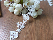 2CM Width Loving Heart Pattern Hollowed Out Lace Trims Garment Lace Scrapbooking DIY Accessories