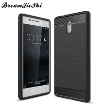 Fitted Cases for Nokia 3 5.0 inch New Soft Silicone TPU Case Back Cover for Nokia3  . Mobile Phone bags / Cases