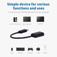 Type C OTG Cable Adapter USB 3.1 Type-C Male USB 3.0 Female OTG Data Cable Cord Adapter