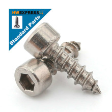 HWEXPRESS 304 stainless steel hexagonal self-tapping screws M4*18or20