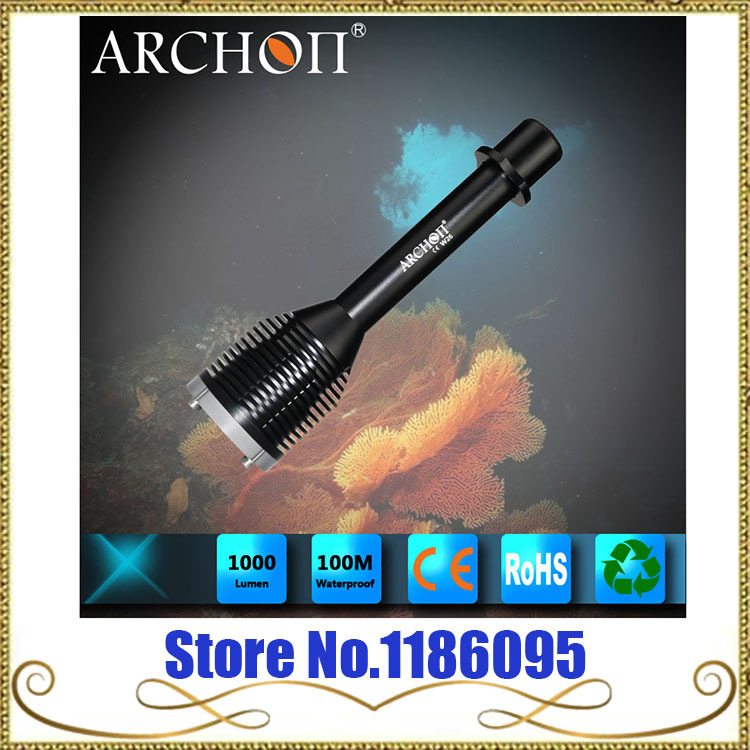 Wholesale ARCHON D20 Cree XM-L T6 1200 Lumen 3-Mode Professional Diving Led Flashlight(2*18650 OR 4*CR 123A)+ Free Shipping<br><br>Aliexpress
