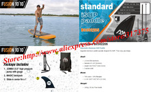 AQUA MARINA 11 feet 15CM thickness FUSION inflatable sup board stand up paddle board inflatable surfboard Korea import materials