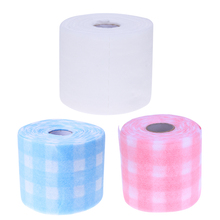 180x10cm Nails Pads Paper Nail Polish Remover Manicure Disposable Cotton Cloth Lint-Free Wipes Nail Art Cleansing Cotton Roll