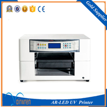 Practical A3 size wood printing machine uv flatbed printer for sale