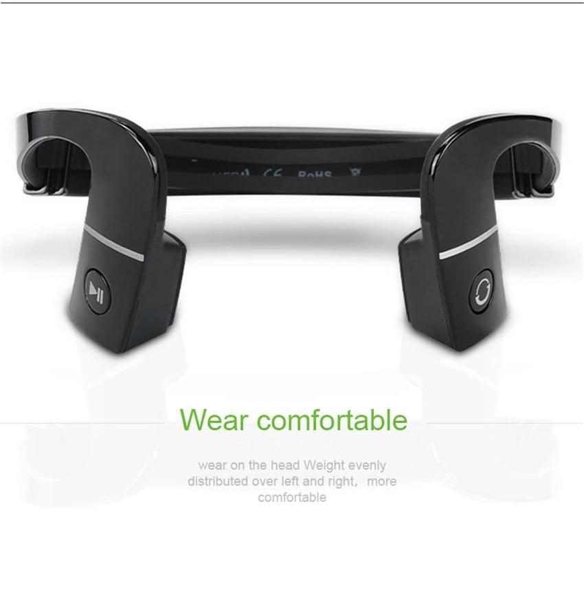 S.Wear LF-18 Wireless Bluetooth Stereo Headset BT 4.1 Waterproof Neck-strap Headphone Bone Conduction NFC Earphone Hands-free