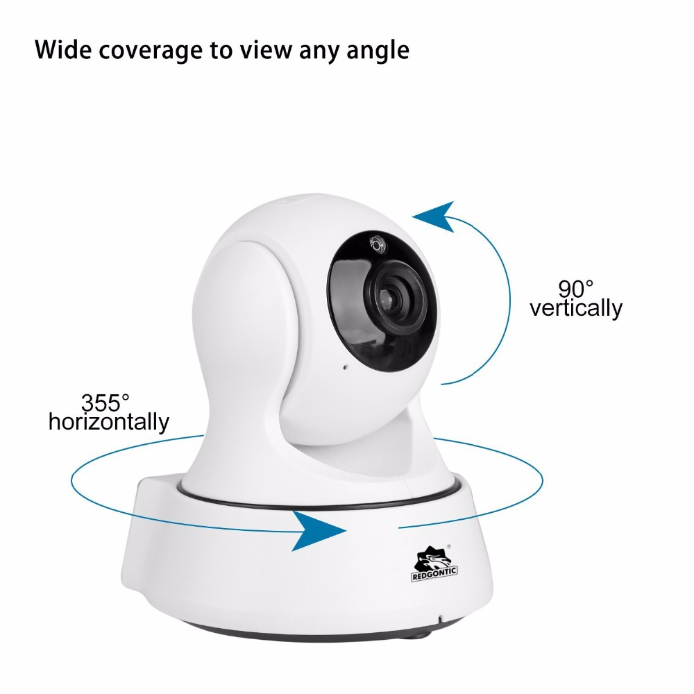HD 1080P 2.0MP PTZ Wifi IP Camera Security IR-Cut Night Vision Two Way Audio CCTV Surveillance IP Camera Wireless APP CAM360<br>