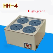 Buy 1PC High-grade HH-4 double digital display electric thermostatic water bath 304 stainless steel Material 110V for $141.05 in AliExpress store