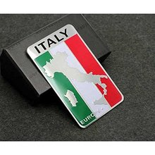 Car Styling Accessories Emblem Badge Decal Sticker ITALY Sport Racing Motorsport EUROPE
