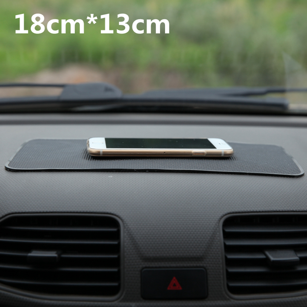 Universal Car Dashboard 18*13cm Magic Anti Slip Mat Non-slip Pad For Key Cell Phone Iphone Smart Mobile phone GPS Holders(China (Mainland))