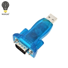 1pcs HL-340 New USB to RS232 COM Port Serial PDA 9 pin DB9 Adapter support Windows7-64(China)
