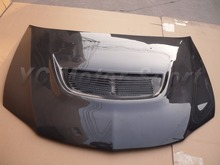 Car Accessories Carbon Fiber OEM Style Hood Bonnet Fit For 2003-2007 EVO 8 9 Hood Car-stying(China)
